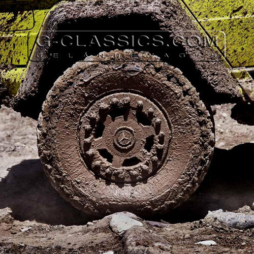 Off-Road Reifen G 500 4x4 2 - Off-Road Tyre G 63 AMG 6x6